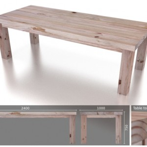 10 Seater Heavy Dining Table