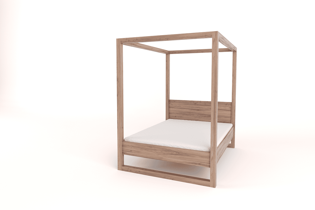 Picture of: Double 4 Poster Bed With Headboard Eco Furniture Design Top Quality South African Furniture