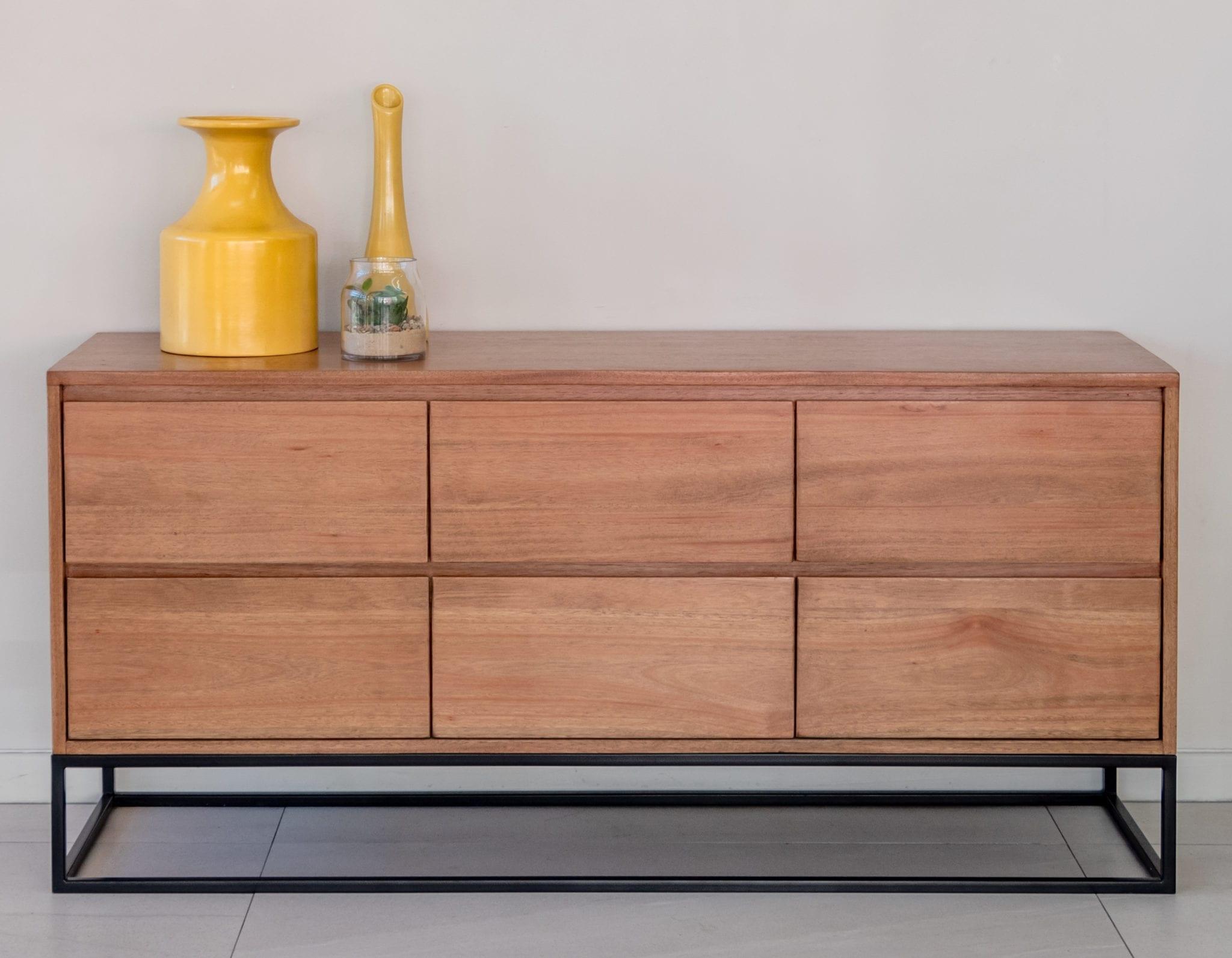 Wooden Drawer Unit