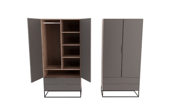 Cooper Wardrobe with Drawers