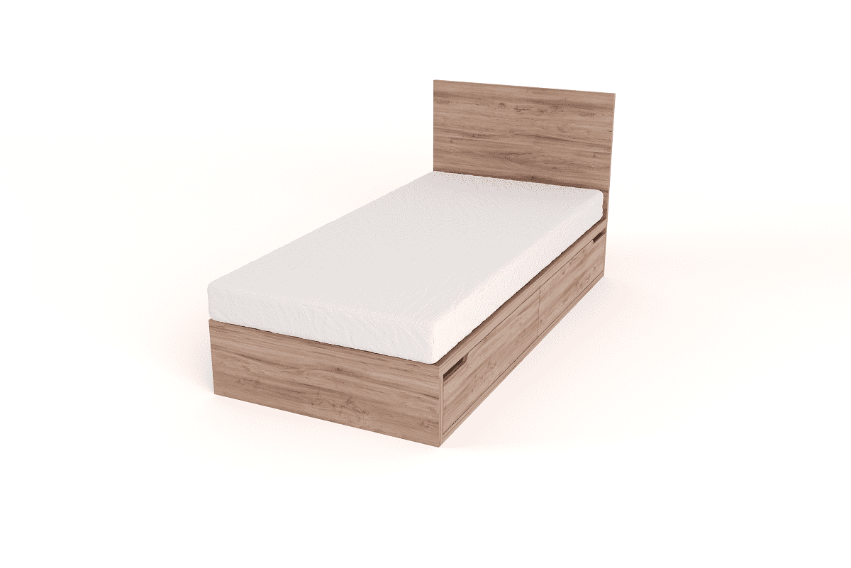 Picture of: Drawer Bed With Headboard Single Eco Furniture Design Top Quality South African Furniture