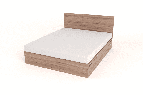 Drawer Bed with headboard - Queen size