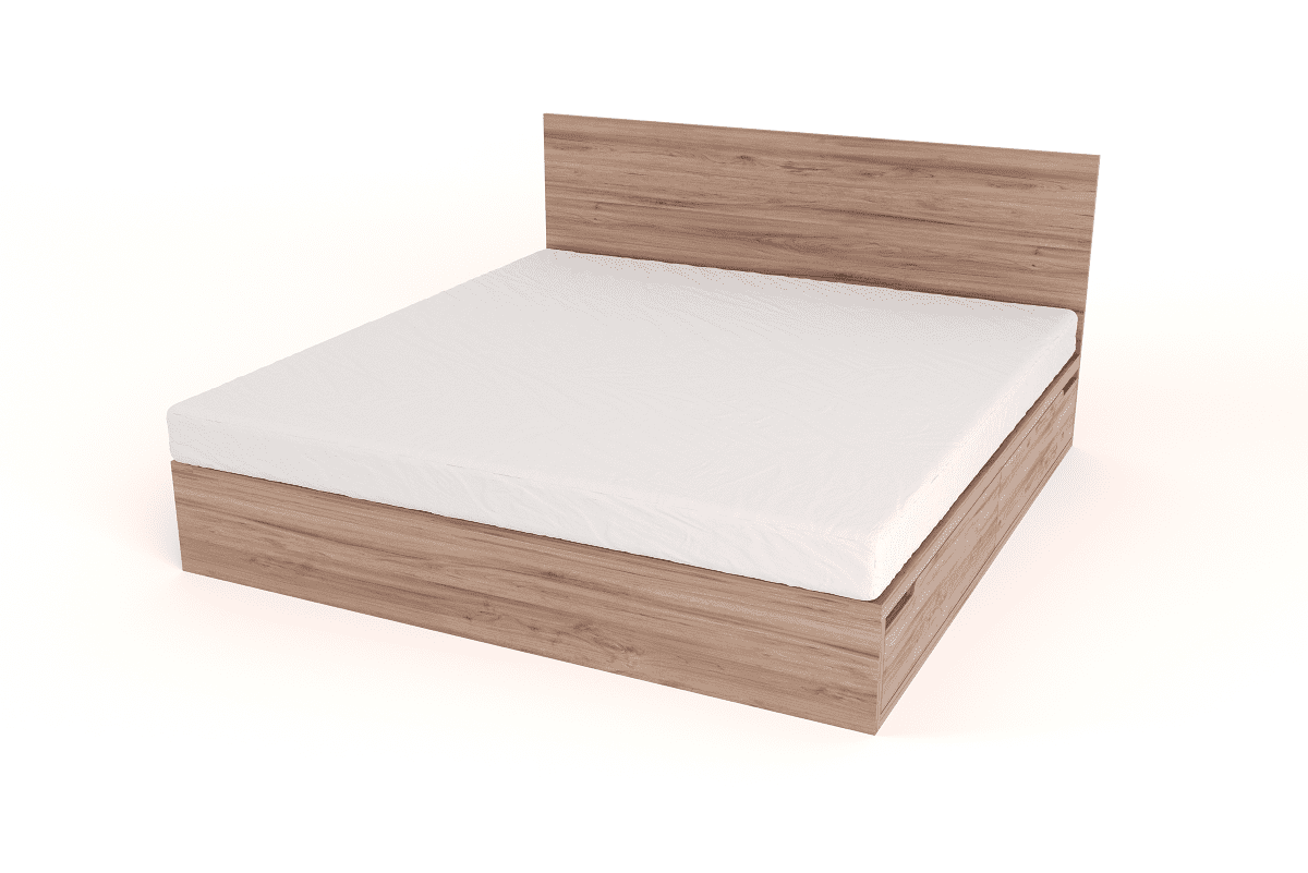 Bedroom Furniture Drawer Bed with Headboard – King Size beds