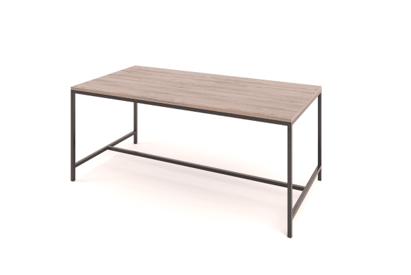 Steel Frame Table Classic 6 seater