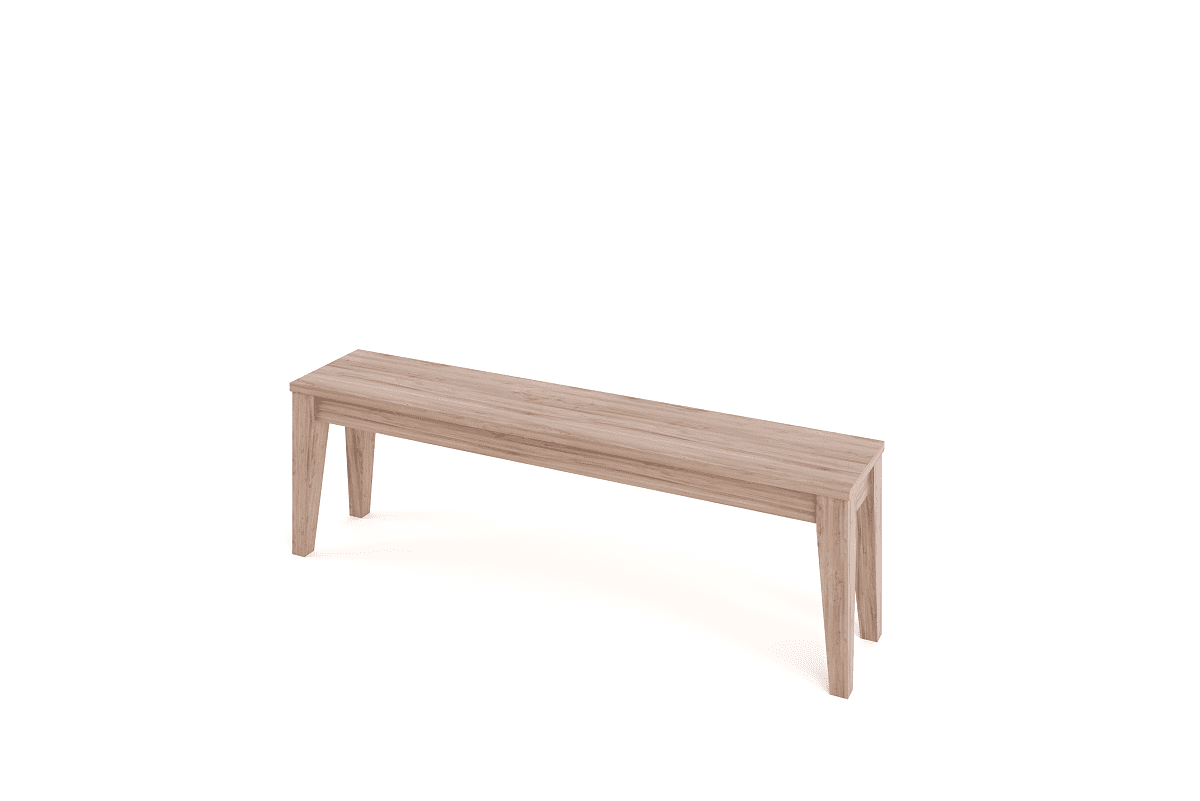 Seating Tapered Bench 1500 Benches