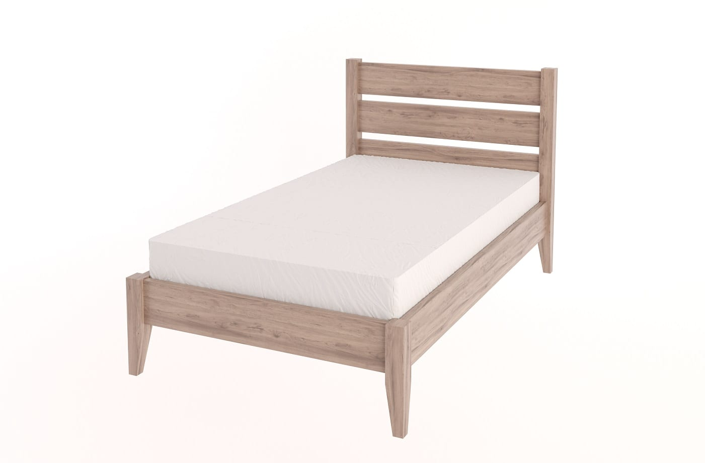 3/4 Tapered Bed