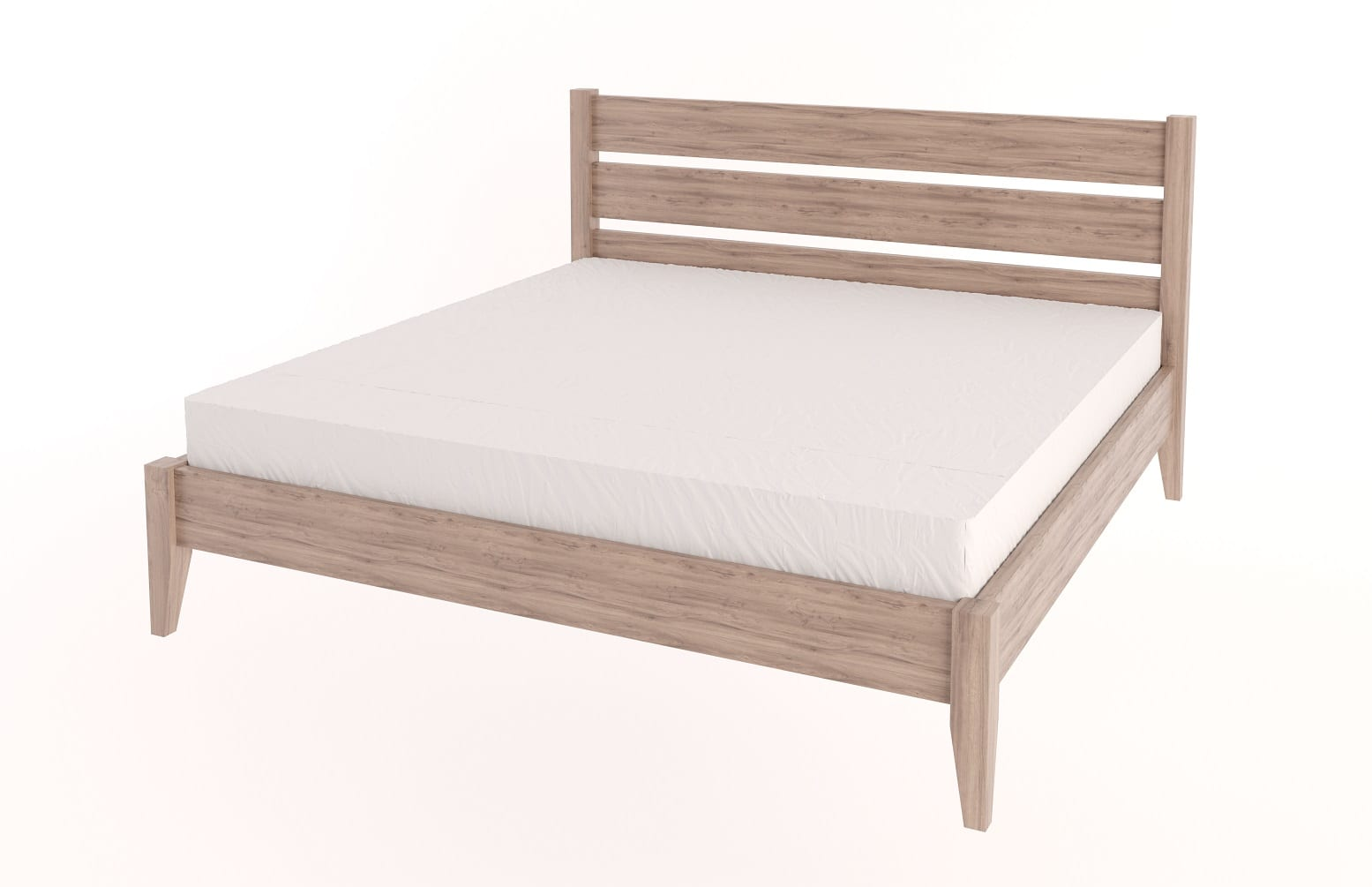 King Tapered Bed
