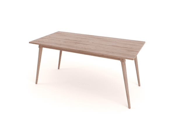 Anna Turned Leg Dining Table 1800 x 900