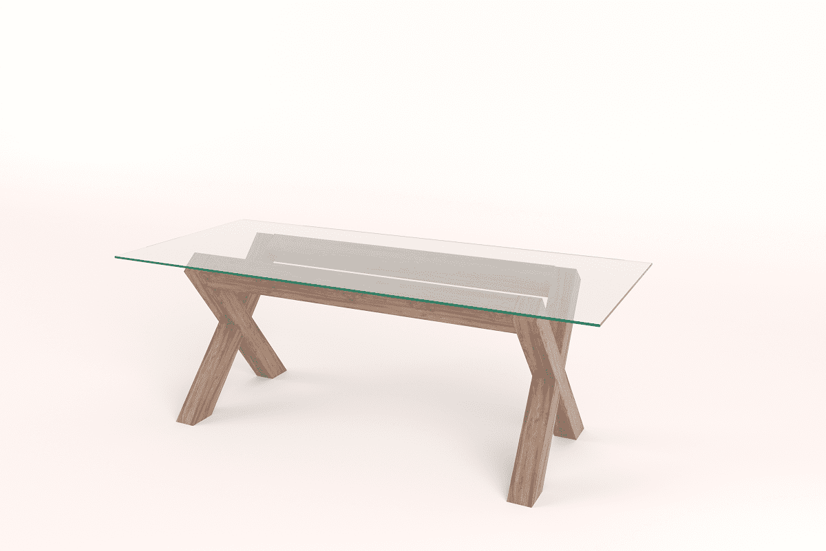 Contemporary cross leg dining table south africa home furniture contemporary cross leg dining table watchthetrailerfo