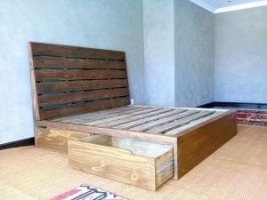 Wooden Beds With Storage