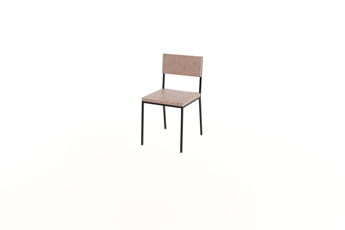 Steel Frame Chair