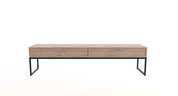 Steel TV Unit with Drawers