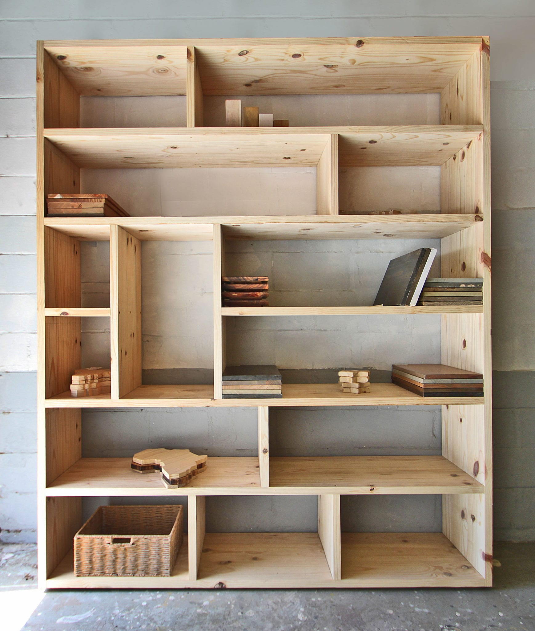 Wood Bookshelves For Sale: Contemporary Wooden Bookcases For Sale And Custom Made