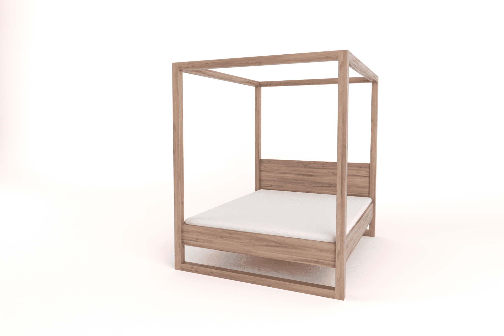 Wooden 4 poster beds for sale and custom made to order - Unique beds for sale ...