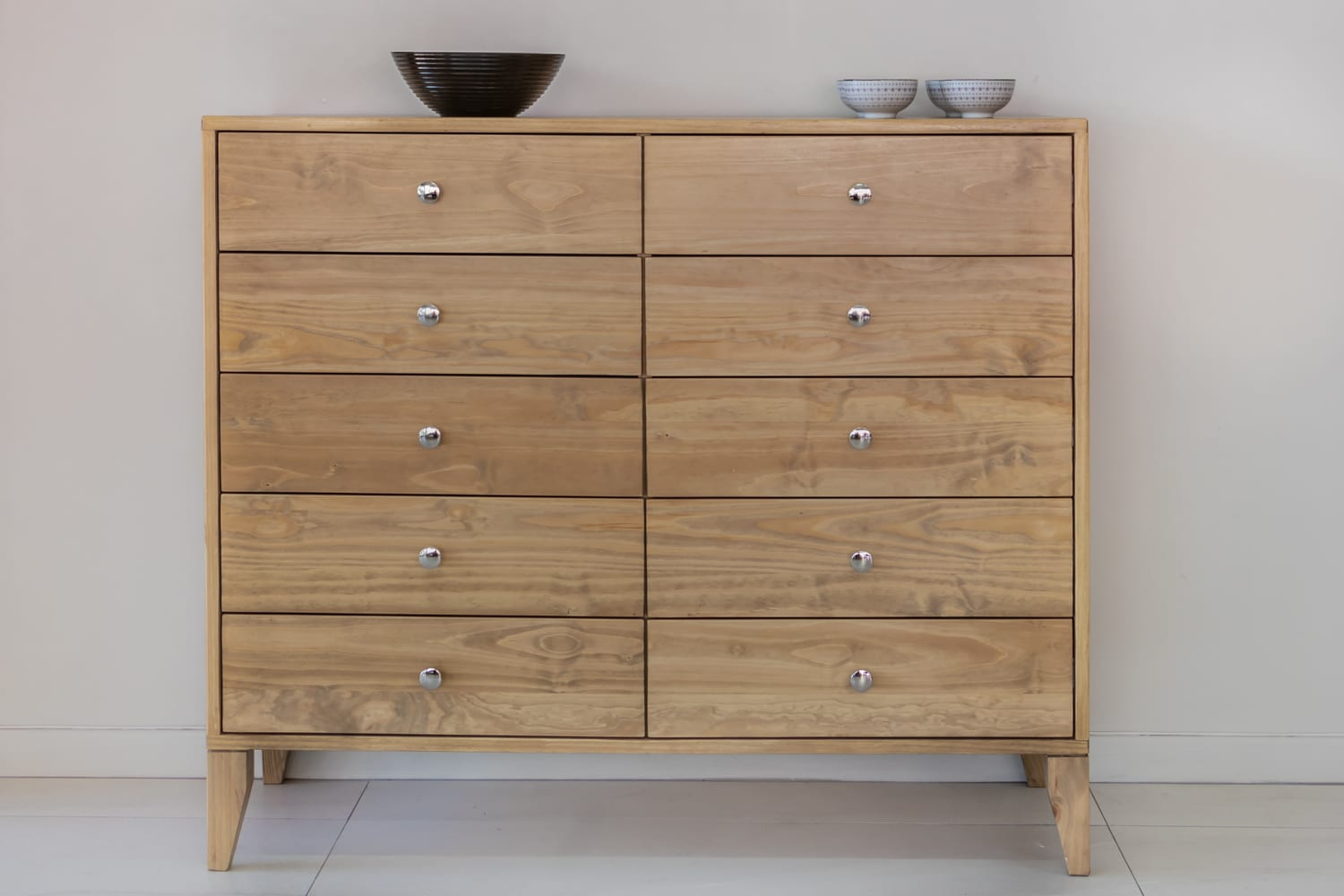 Solid Wood Drawer Unit Chest Of