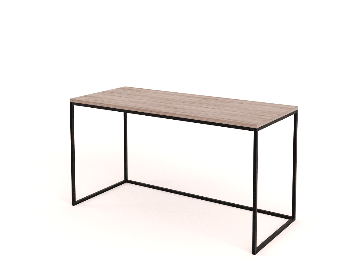 Picture of: Steel Frame Wooden Desk Eco Furniture Design Top Quality South African Furniture