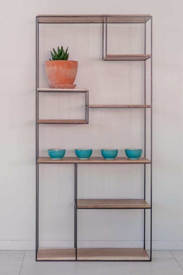 Steel Contemporary Shelf