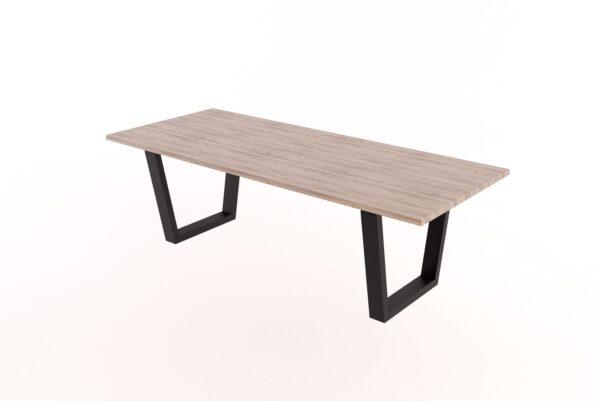 Selena Steel Frame Table
