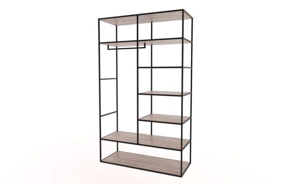 Steel Frame Hanging Closet Wardrobe