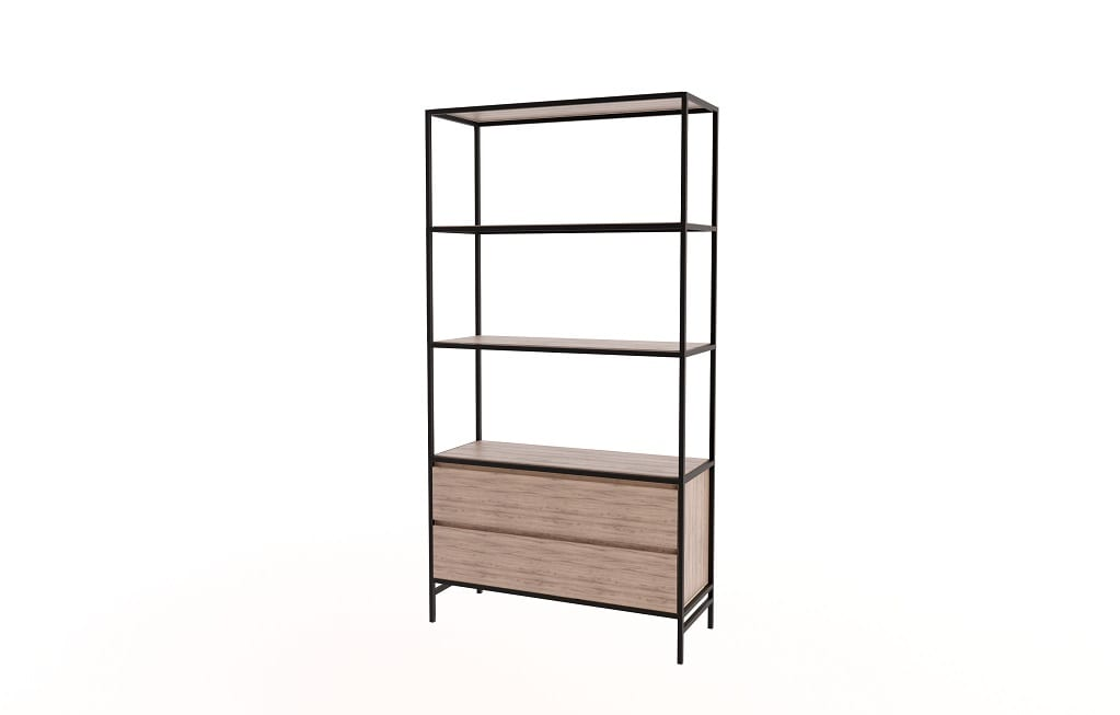 Steel Shelf drawers