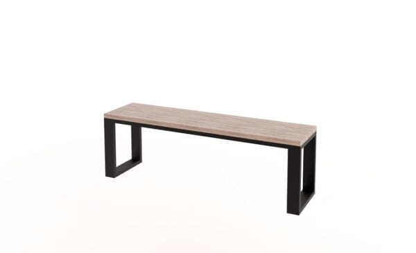 Lucy Steel Frame Bench
