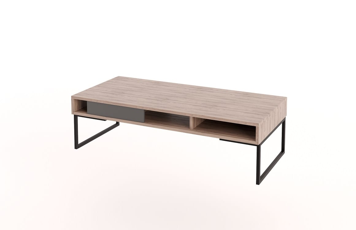 Sliding Front Coffee Table