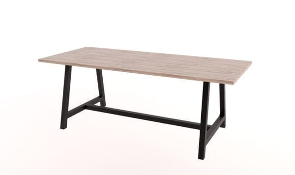 Troy Steel Frame Table