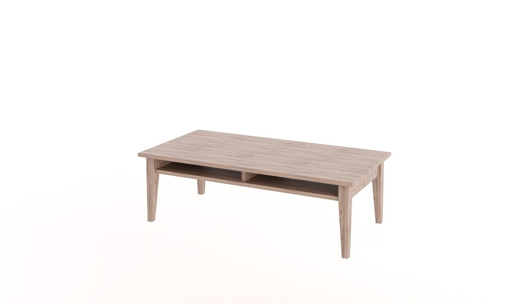 Tapered Coffee Table Storage