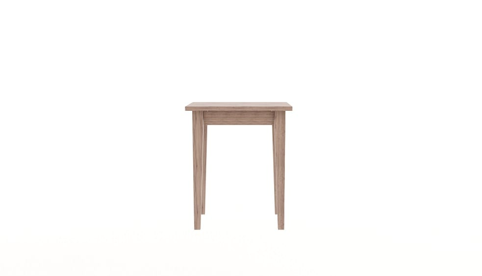 Tapered Side Table Slim Drawer