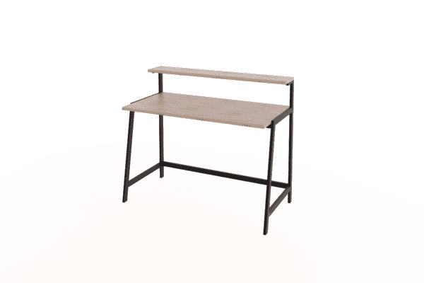 Desks & Dressers Speedi Steel Frame Desk With Shelf Desks