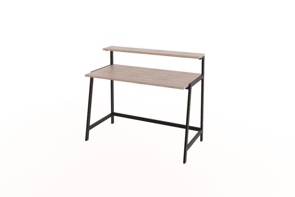 Desks & Dressers Speedi Steel Frame Desk With Shelf Desks
