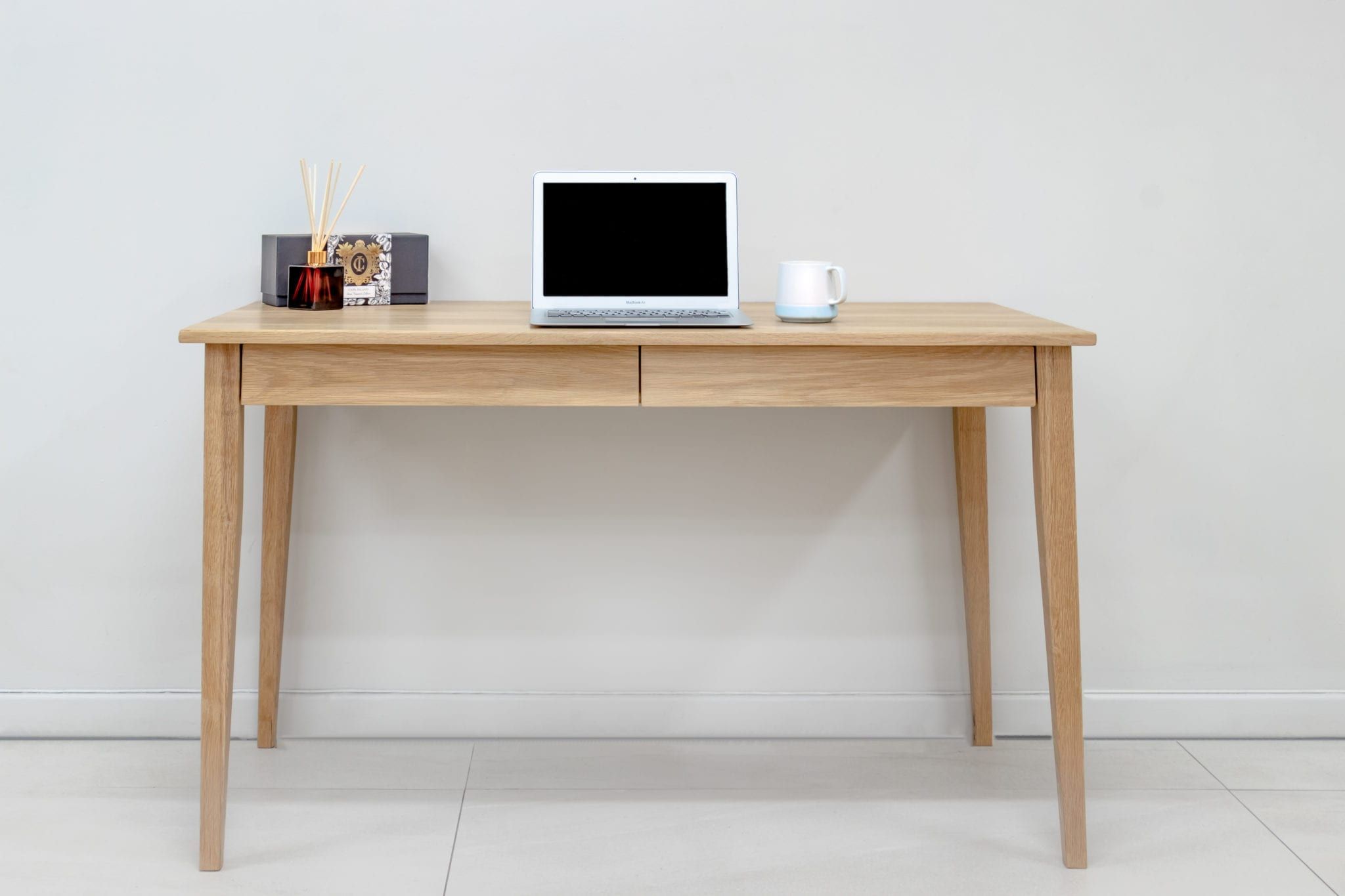 Solid Oak Desk with Drawers - Beautifully Crafted Wood Furniture Shop